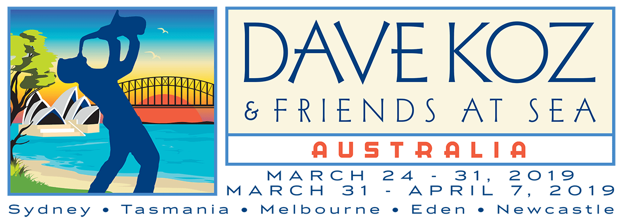 2019 Dave Koz and Friends at Sea Cruise Voyage One - Voyage Two Logo 1250